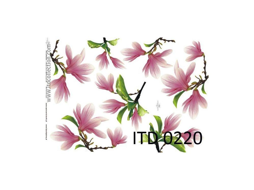 Papier decoupage ITD 0220