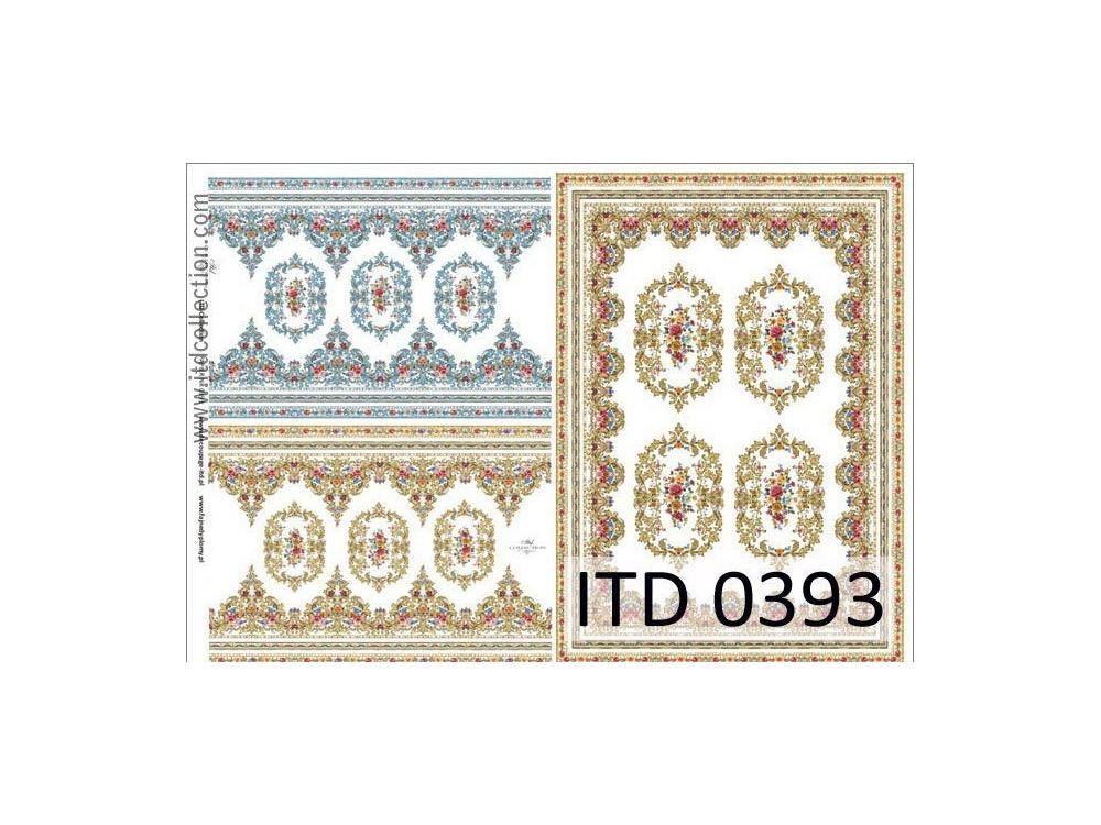Papier decoupage ITD 0393