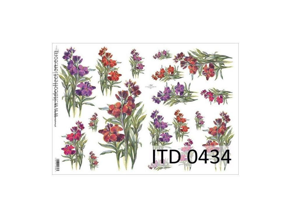 Papier decoupage ITD 0434