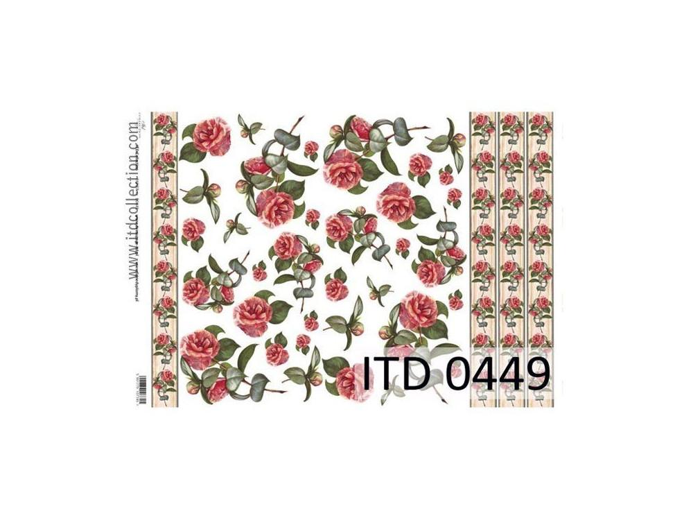 Papier decoupage ITD 0449