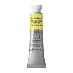 Watercolor paint Professional Watercolour - Winsor & Newton - Winsor Lemon, 5 ml