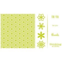 Letterpress Printing Plates - Blossoms