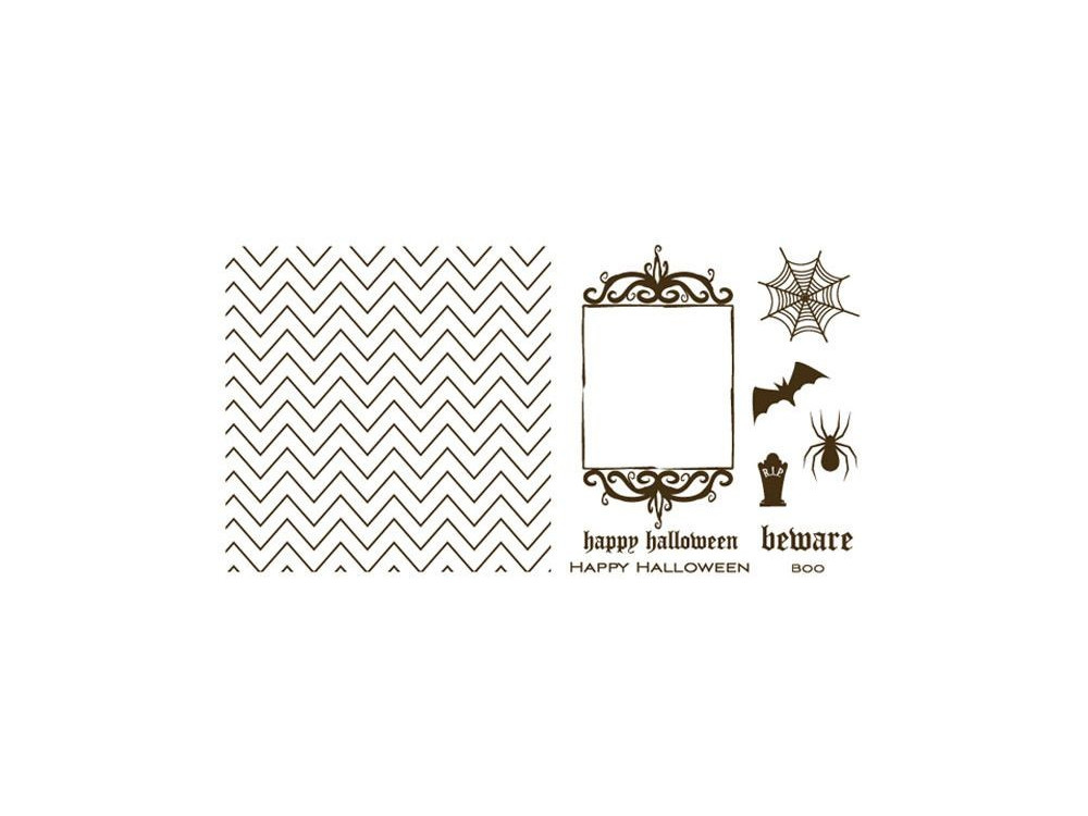 Szablony Letterpress - We R - Holiday