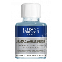 Colored drawing gum for masking - Lefranc & Bourgeois - 75 ml
