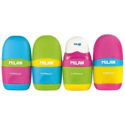 Shaprener + Eraser 2in1 Milan Capsule Mix