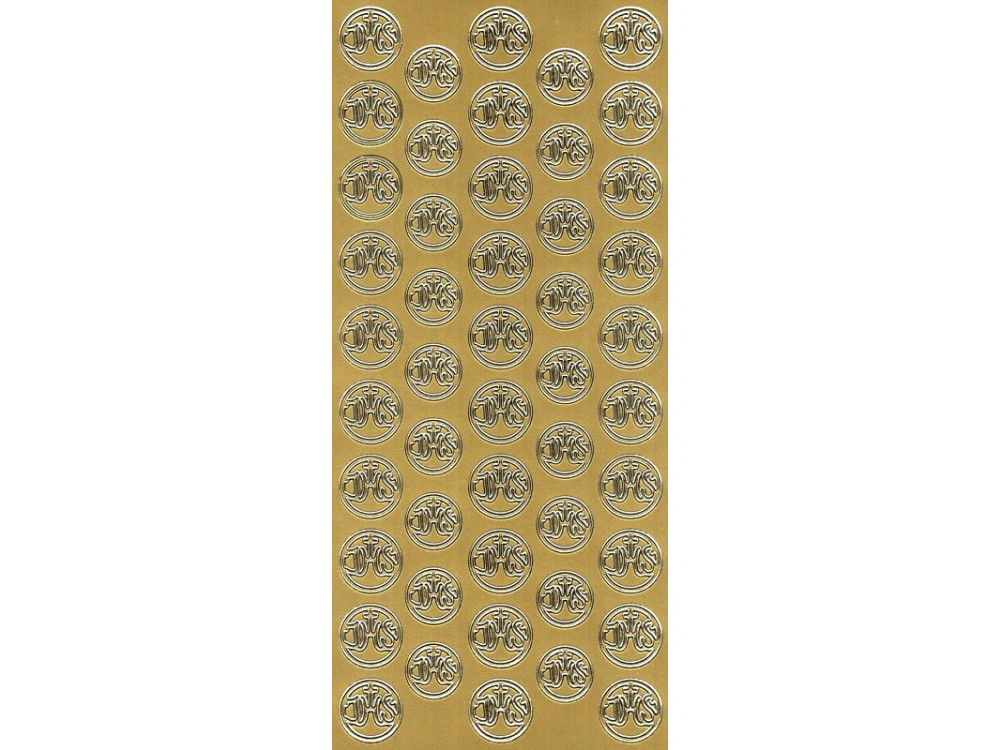 Stickers - IHS 790 gold