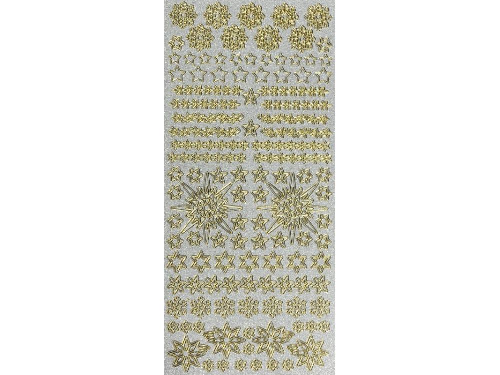 Pearl Sticker - Stars, Snowflakes 298