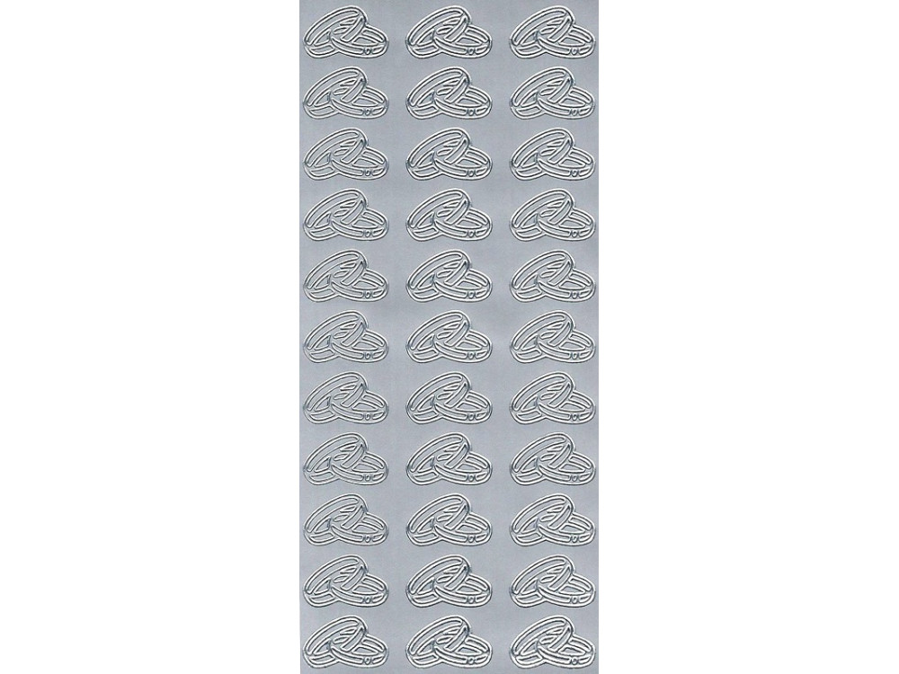 Stickers - Rings 791 Silver