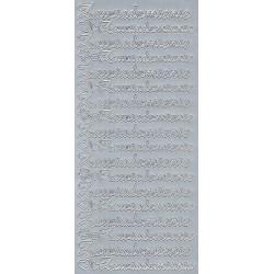 Stickers - Zawiadomienie 414 Silver