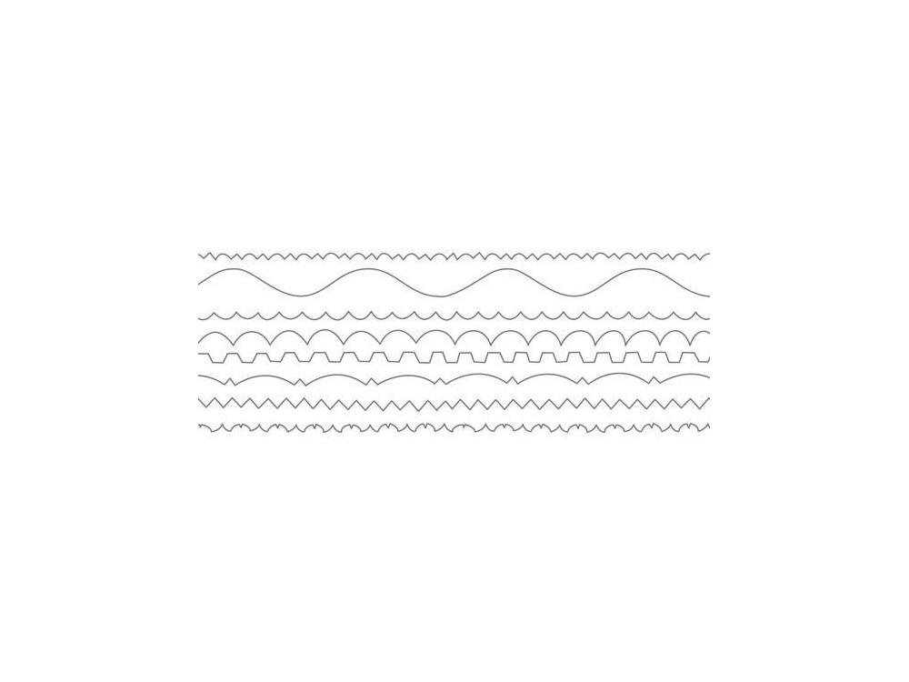 Nożyczki z 8 ostrzami - Milan - 8 wzorów