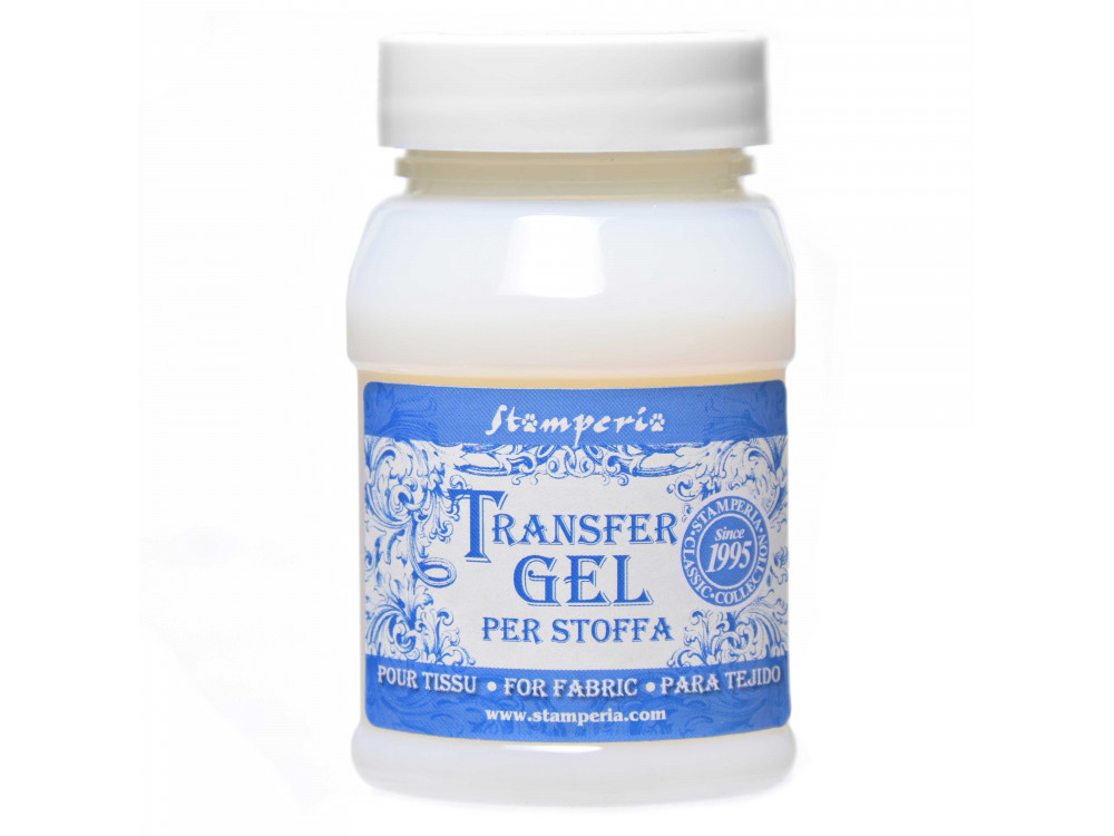 Textile Transfer Gel Medium for decoupage - Stamperia - 100 ml