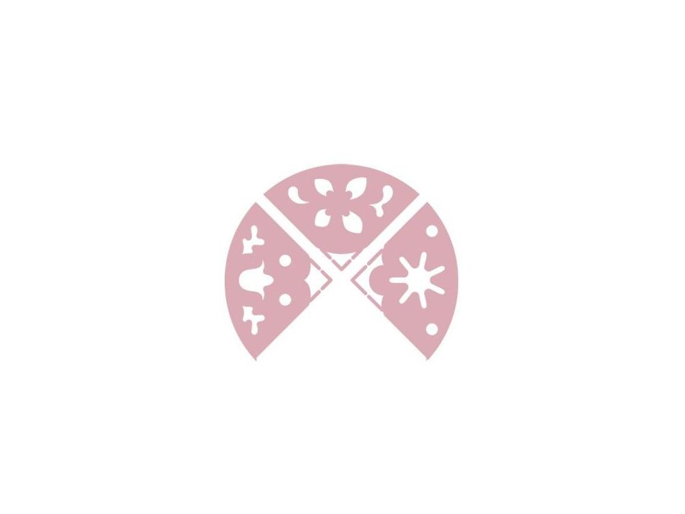 Dziurkacz ozdobny, narożnikowy 3 w 1 - DpCraft - Flora