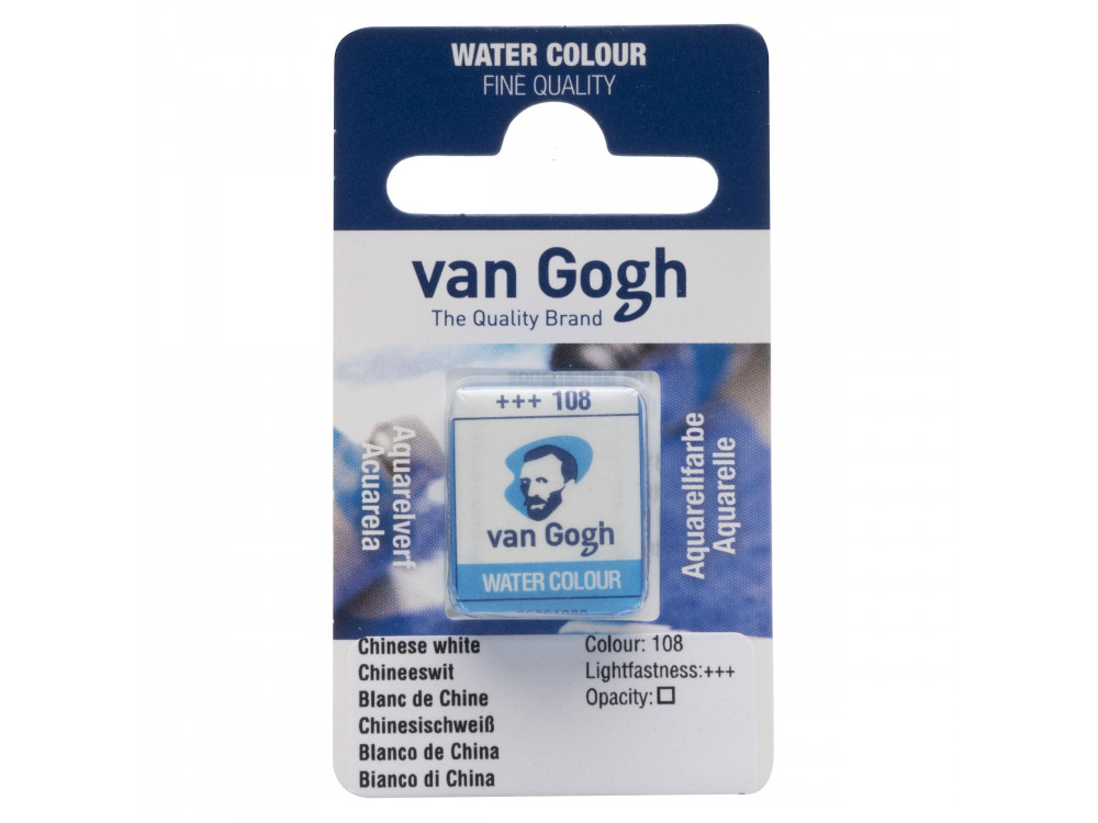 Watercolor pan paint - Van Gogh - Chinese White