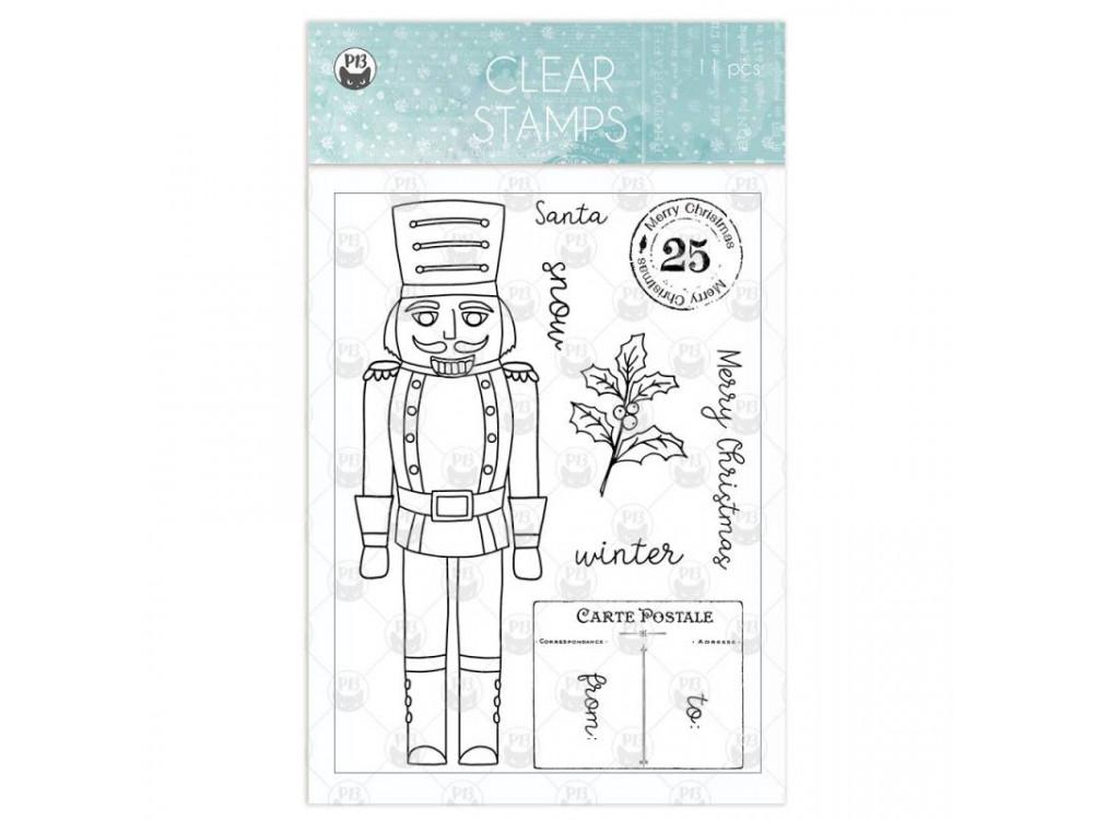 Set of clear stamps - Piątek Trzynastego - The Four Season Winter 01, 11 pcs.