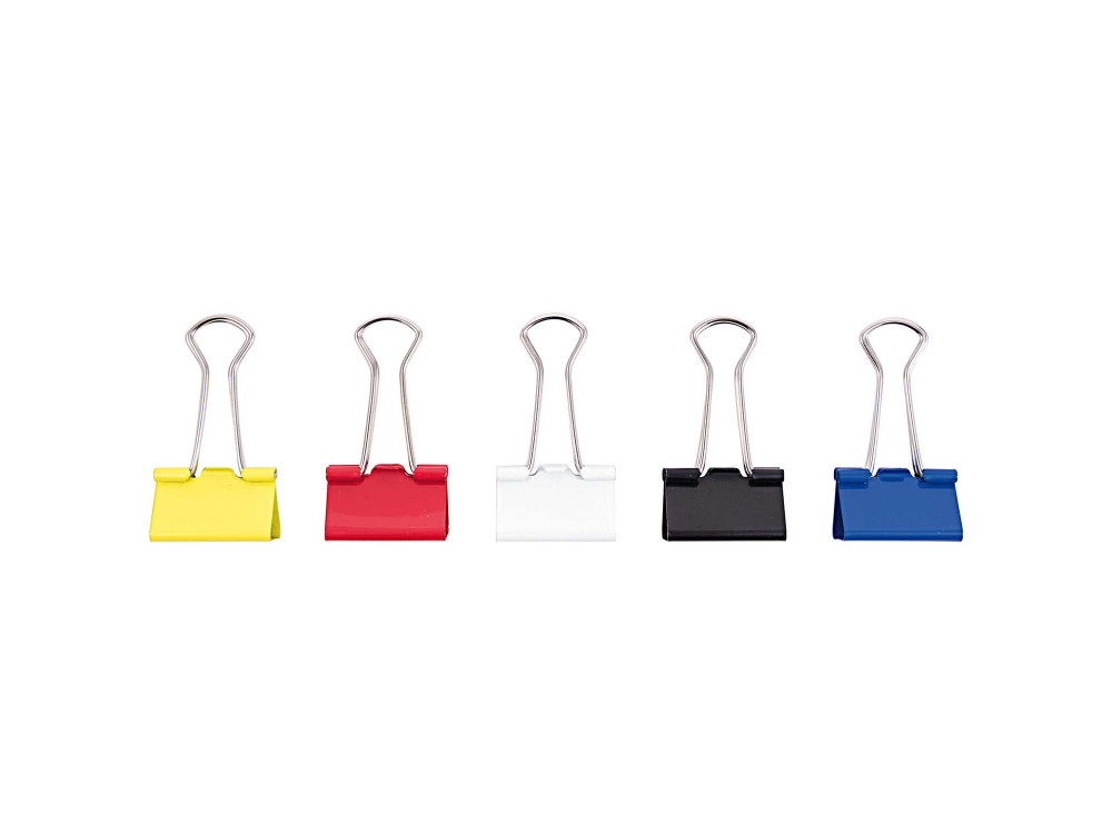 Office binder clips - Rico Design - 25 mm, 12 pcs.
