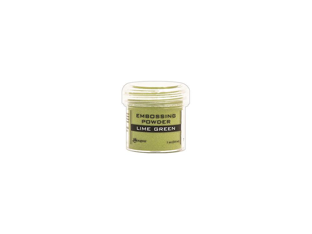 Embossing powder - Ranger - lime green, 34 ml