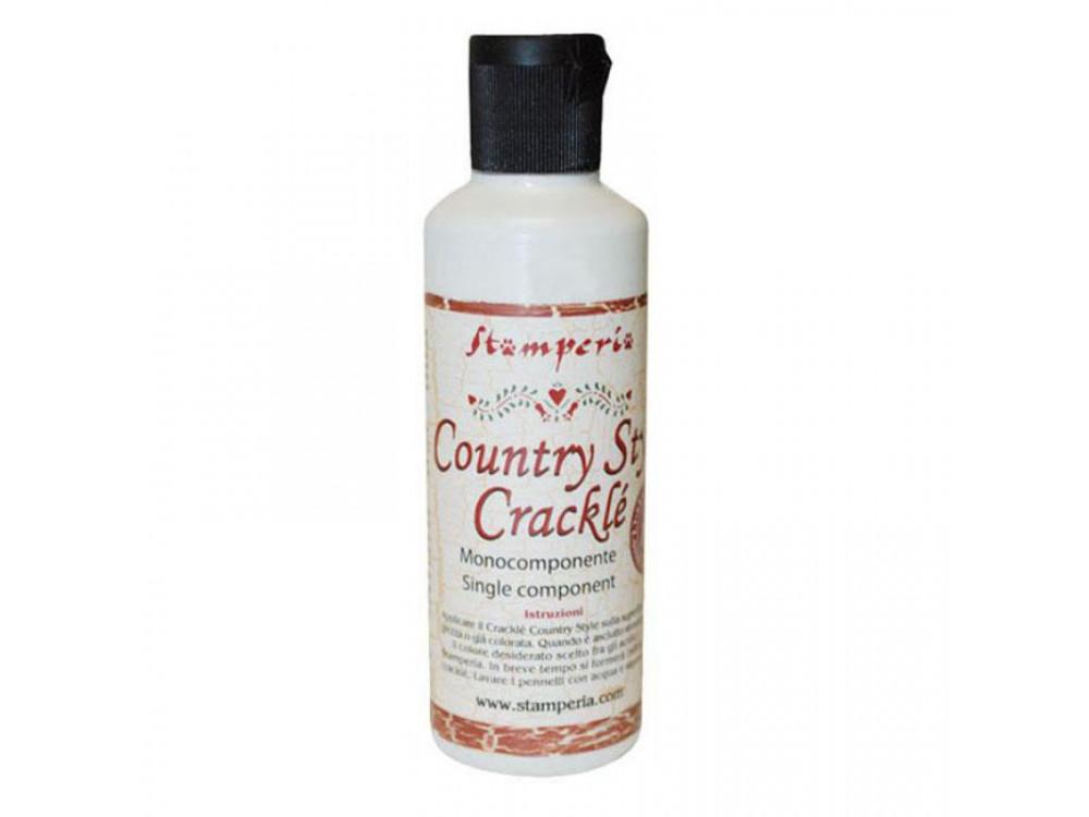 Preparat do spękań Crackle Country - Stamperia - jednoskładnikowy, 80 ml