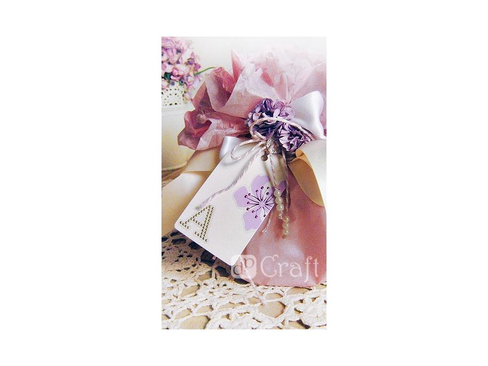Naklejki ornamentowe tłoczone - kwiaty