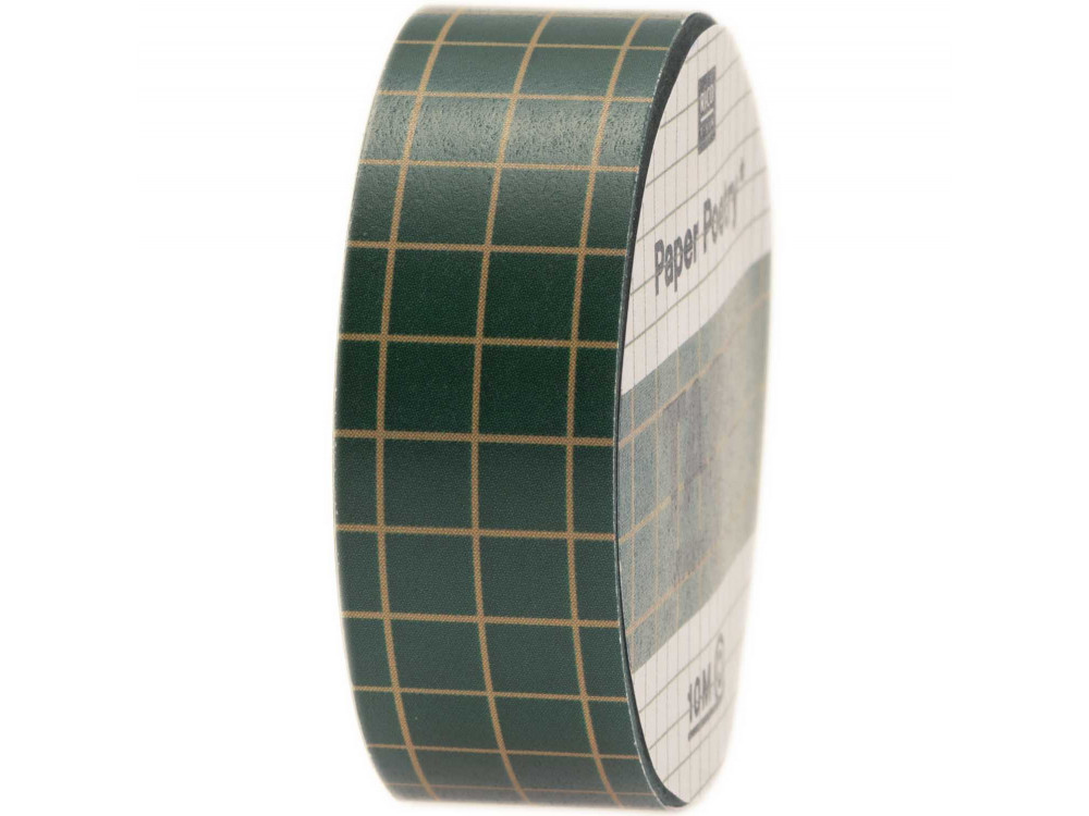 Washi tape Xmas - Paper Poetry - Green and gold