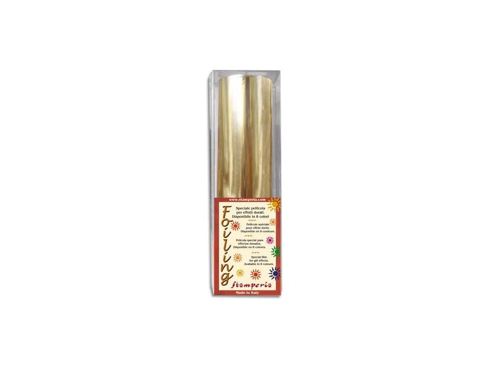 Gilding Foil Stamperia Gold Roll - Gold