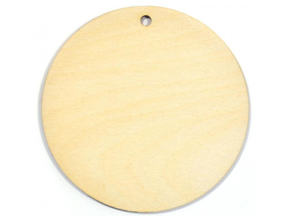 Wooden Plywood Hanging Circle 10 cm
