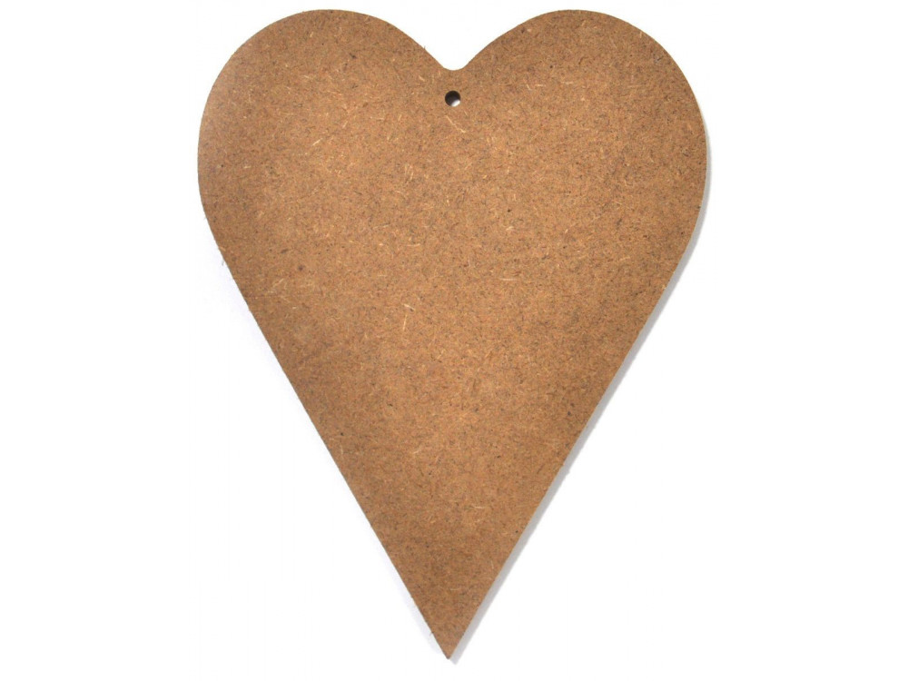MDF Heart 20 cm