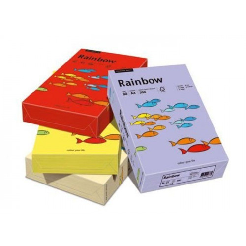 Colored paper A3 - Rainbow - 80 g, 500 sheets