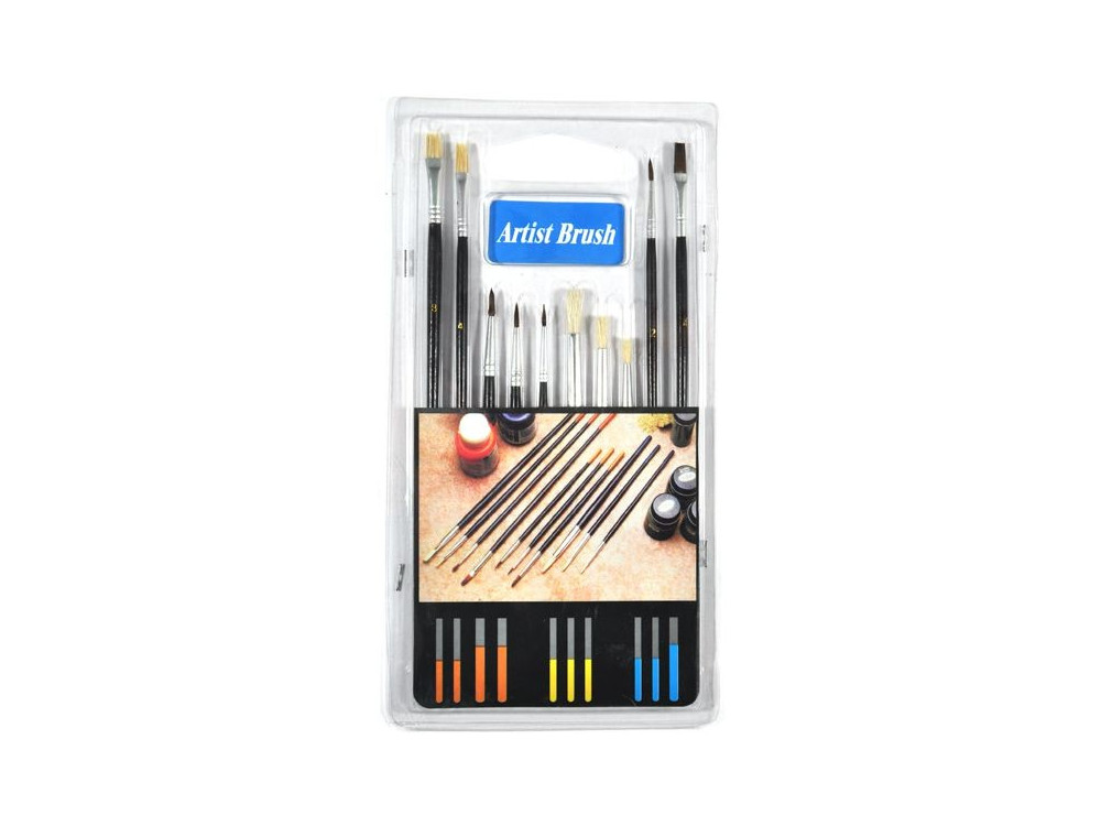 Paint Brush set - 10 pcs.