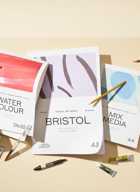 Bloki artystyczne PaperConcept